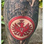 Eintracht Frankfurt Atila Tattoo von Marielle-Art