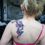 Schmetterlinge tattoo von Marielle in der Nähe von Weimar