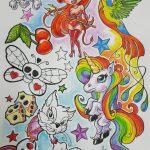 Tattoo Entwurf Comic by Marielle-art