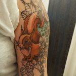 Eichhörnchen Tattoo