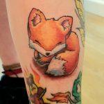 comic Fuchs tattoo
