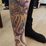 Krake tattoo von Marielle