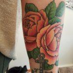 farbige Rosen von Marielle-Art