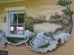 Fassadengestaltung Terasse