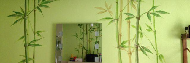 Badgestaltung mit Bambus