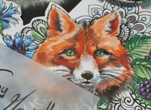 Fuchs-Tattoo von Marielle