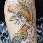 besonderer Tattoowunsch gezeichnet und gestochen von Marielle-Art