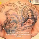Refresh und Tattoo mit Jungfrau Maria