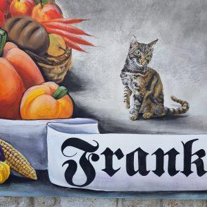private Wandmalerei in Frankendorf bei Weimar